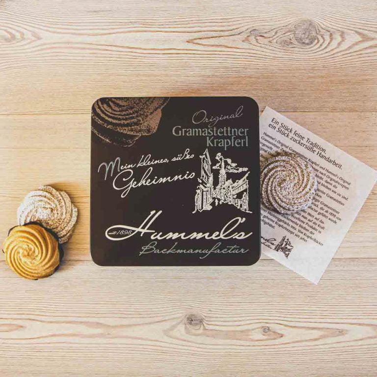 Eine Rarität aus dem mühlviertler Gramastetten. Das Original Gramastettner Krapferl aus der Hummel's Backmanufactur. Mit Liebe gemacht, mit Liebe verspeist.
